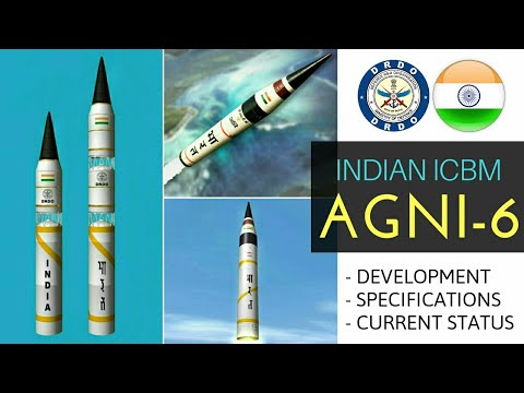 Agni 6 Missile - All Updates About Agni 6 Missile | DRDO Agni-6 Current Status (Hindi)