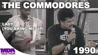 """The Commodores - """"Lady (You Bring Me Up)"""" (1990) - MDA Telethon"""