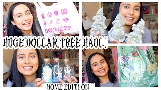 HUGE DOLLAR TREE HAUL | 99 CENT STORE HAUL | HOME EDITION