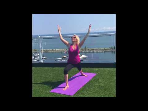 sun salutation variation  yoga first and spa  youtube