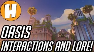 Overwatch - Oasis Hero Interactions, Lore and Speculation! | Hammeh