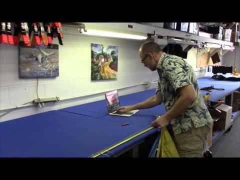 How to measure parachute line trim (Sport Icarus) Skydiving Services LLC