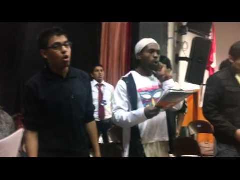 The AFrican ConeXion Project 2013 Gospel workshop God Restores
