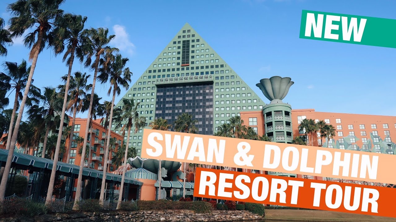 Newly Renovated Disney S Swan And Dolphin Resort Tour Youtube