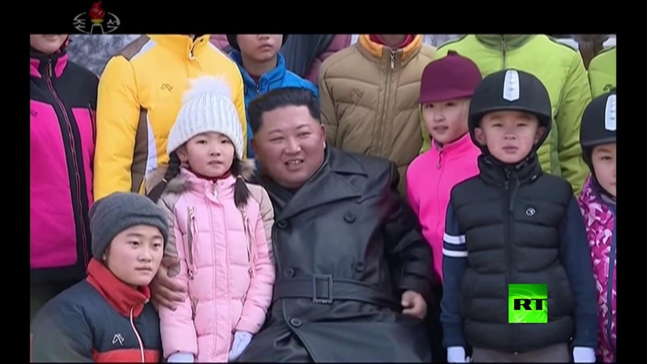 كيم جونغ-أون مفتتحا منتجع