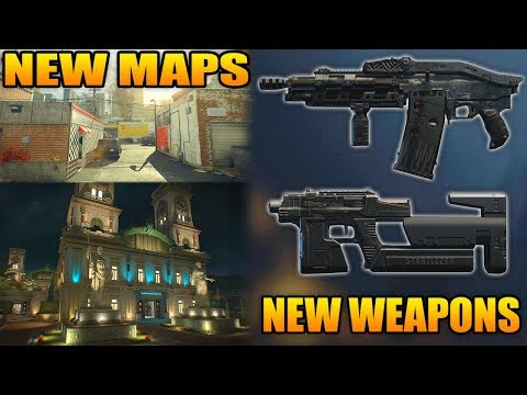 Black Ops 4: New Maps & New DLC Weapons (Switchblade X9, Rampage)