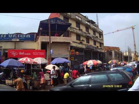 Avenue Kennedy Magasin Afritude Yaounde