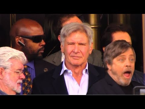 Seeing Mark Hamill get his STAR on the Walk of Fame with Harrison Ford and George Lucas!