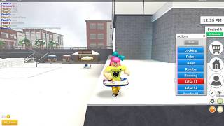 Chi dances on Chiwawa - ROBLOX