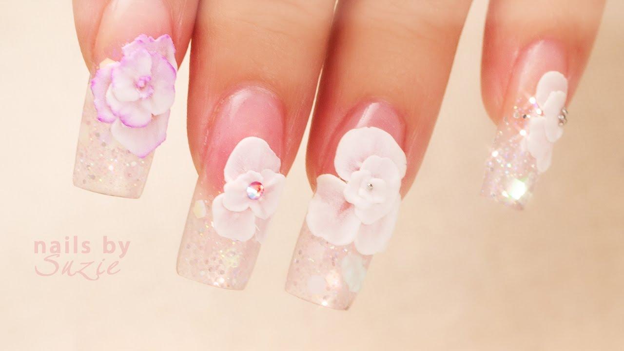 Perfecting Acrylic Flowers Nail Career Education