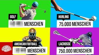 9 unglaublich populäre Sportarten, die hier kaum einer ausübt