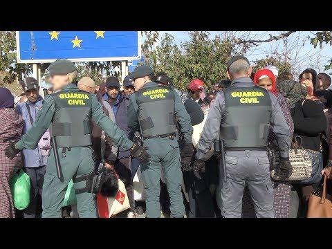 Desmayos, ambulancias, colapsos y tercermundismo  el mundo Tarajal que separa Ceuta de Marruecos