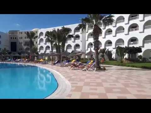Hotel Sidi Mansour Resort Spa(Номер,Пляж).Тунис Джерба 2018г.