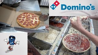 Domino's Pepperoni Pizza (HOW IT'S MADE)