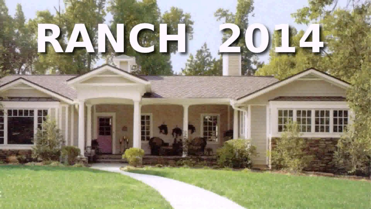 Ranch Style House Exterior Ideas - YouTube