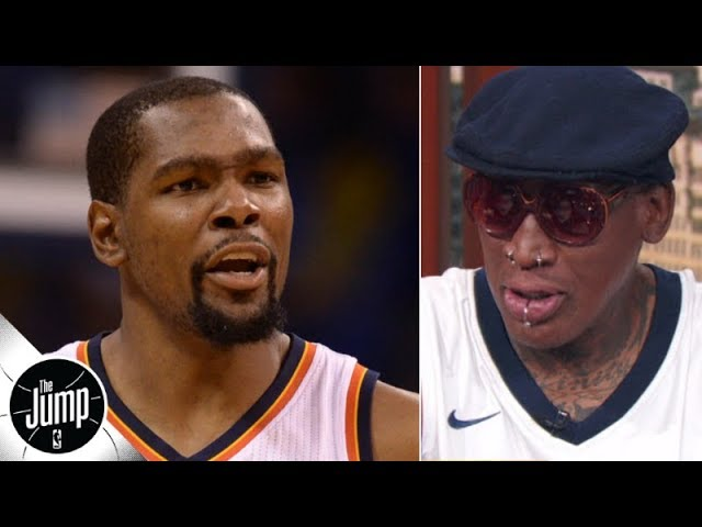 It's selfish of Kevin Durant to say what he said about OKC - Dennis Rodman | The Jump