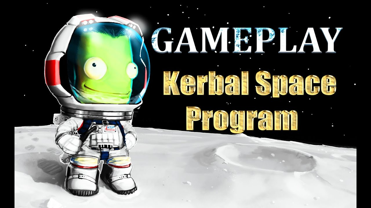 Kerbal Space Program on PS4/GAMEPLAY - YouTube