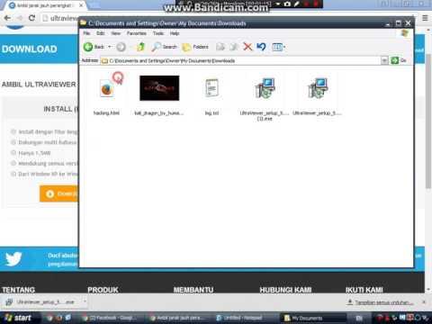 Cara install Ultra Viewer - YouTube
