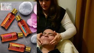 Массаж лица для мужчин/ Facial massage for men