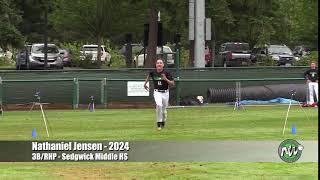 Nathaniel Jensen - PEC - 60 - Sedgwick Middle HS (WA) - July 3, 2019