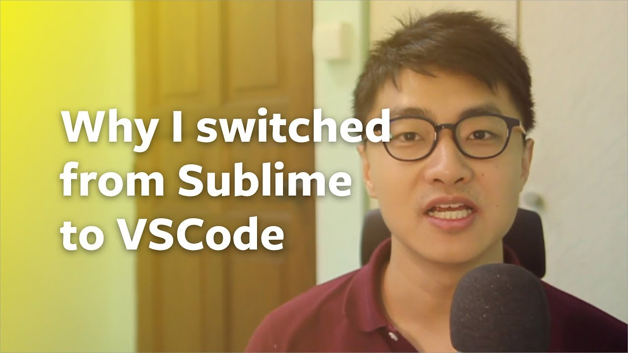 Why I switched from Sublime Text to Visual Studio Code