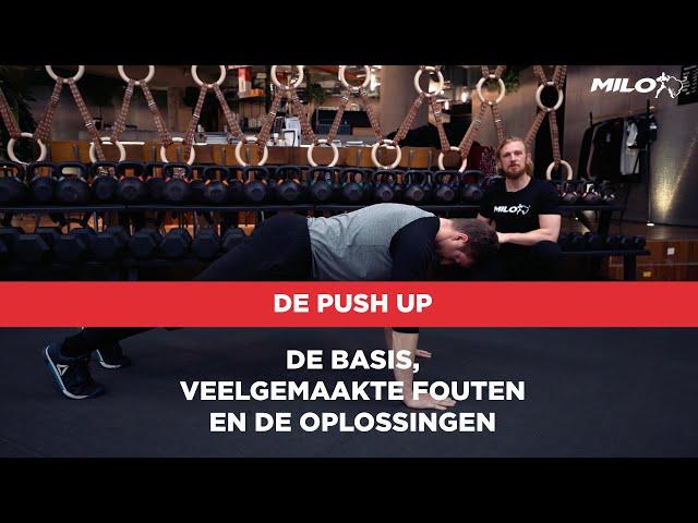 Uitgebreide techniek video over de Push Up