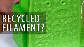 Is Recycled Filament Any Good? My Review of 3DBrooklyn Refil Recycled PET 3D Printer Filament