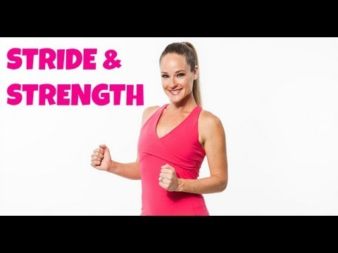 Stride & Strength Full 36 Minute Walking Workout with Dumbbells for Weight Loss