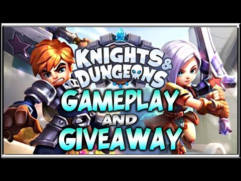 Knights and Dungeons Giveaway - First Look Gameplay Impressions - 동영상