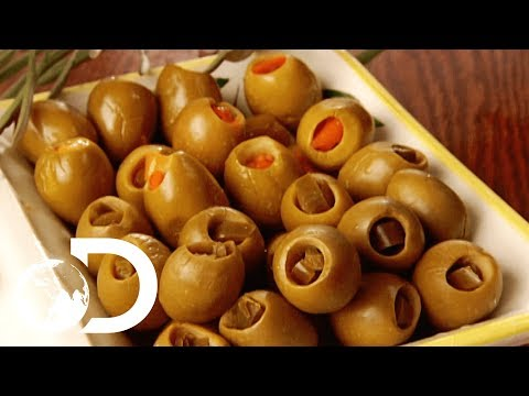 STUFFED OLIVES | How It's Made