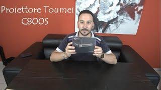 Recensione Toumei C800S il miglior proiettore portatile con bluetooth, wi fi e risoluzione 1080p