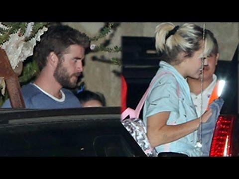 Miley Cyrus And Liam Hemsworth Drop By Soho House Malibu