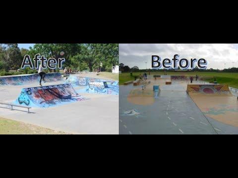 Manning Skatepark ( What do you prefer Before or After)