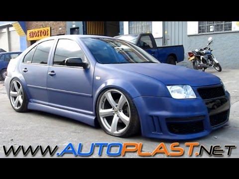 AutoPlast BodyWorX • Jetta MK4 - BodyKit - Suspensión Neumática - Forrado completo 3M - YouTube