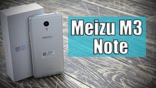 meizu M3 Note ОБЗОР на русском Распаковка  Gray Grey  VS iPhone 6  16gb black  Камера  Игры