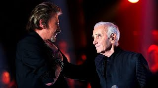 Charles Aznavour et Johnny Hallyday - Ma Vie