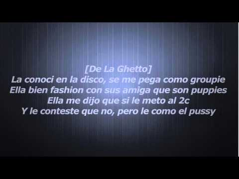 La Groupie De La Ghetto Ft Ñejo, Lui G 21 Plus, Nicky Jam, Ñengo Flow Letra HQ