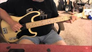 April Wine - Just Between You And Me - Bass Cover