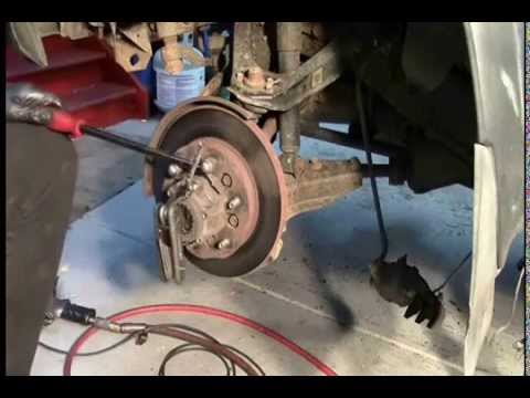 BallJoint, Rotor, and Tie Rod replacement 94 Nissan
