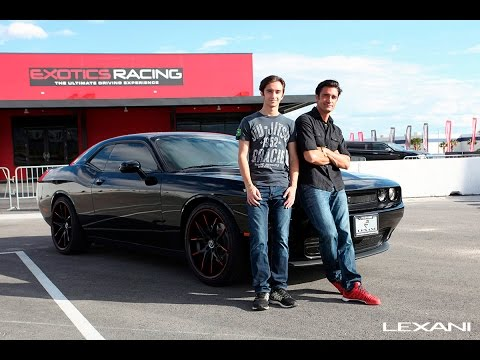 Gilles Marini Surprises Son for 16th BDay  Exotics Racing Las Vegas