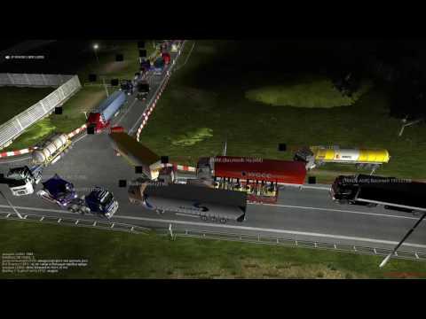 Euro Truck Simulator 2 Rotterdam Traffic Jam