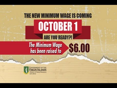 BVI Increases Minimum Wage