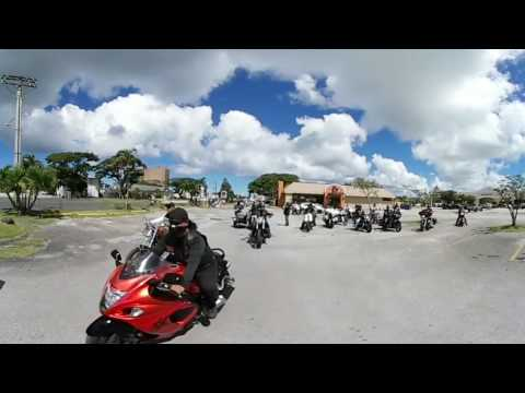 Guam motorcycle enthusiasts roll-out for Unity Ride