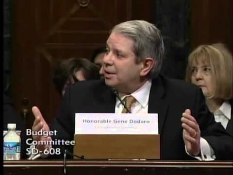 Senator Perdue in Budget Hearing