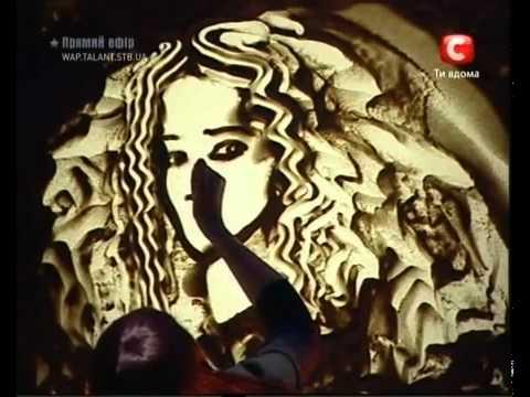 Kseniya Simonova   Sand Animation   Ukraine's Got Talent