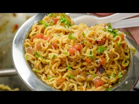 Masala Maggi Recipe in Hindi | Indian Street Style Veg Maggie Noodles hindi me |