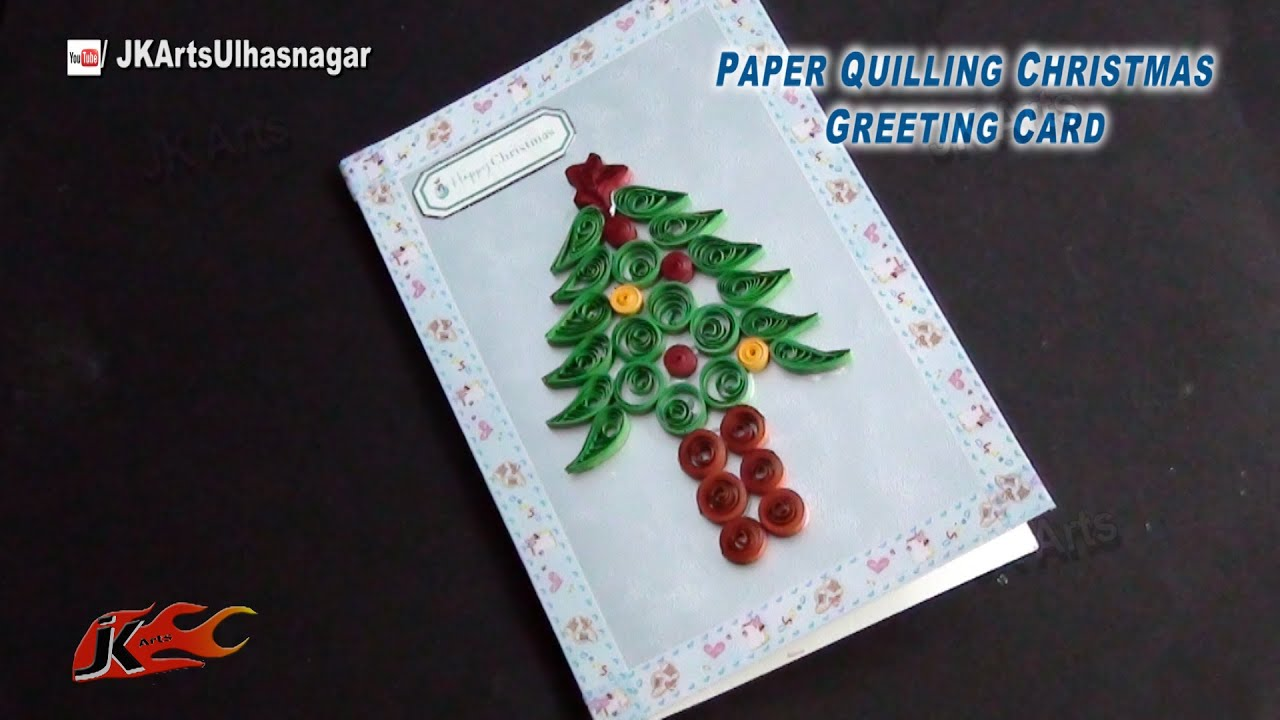 how to make christmas cards youtube