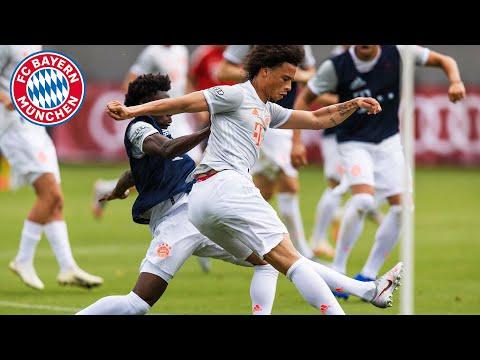 FC Bayern Training im neuen Away-Trikot #AudiFCBTour