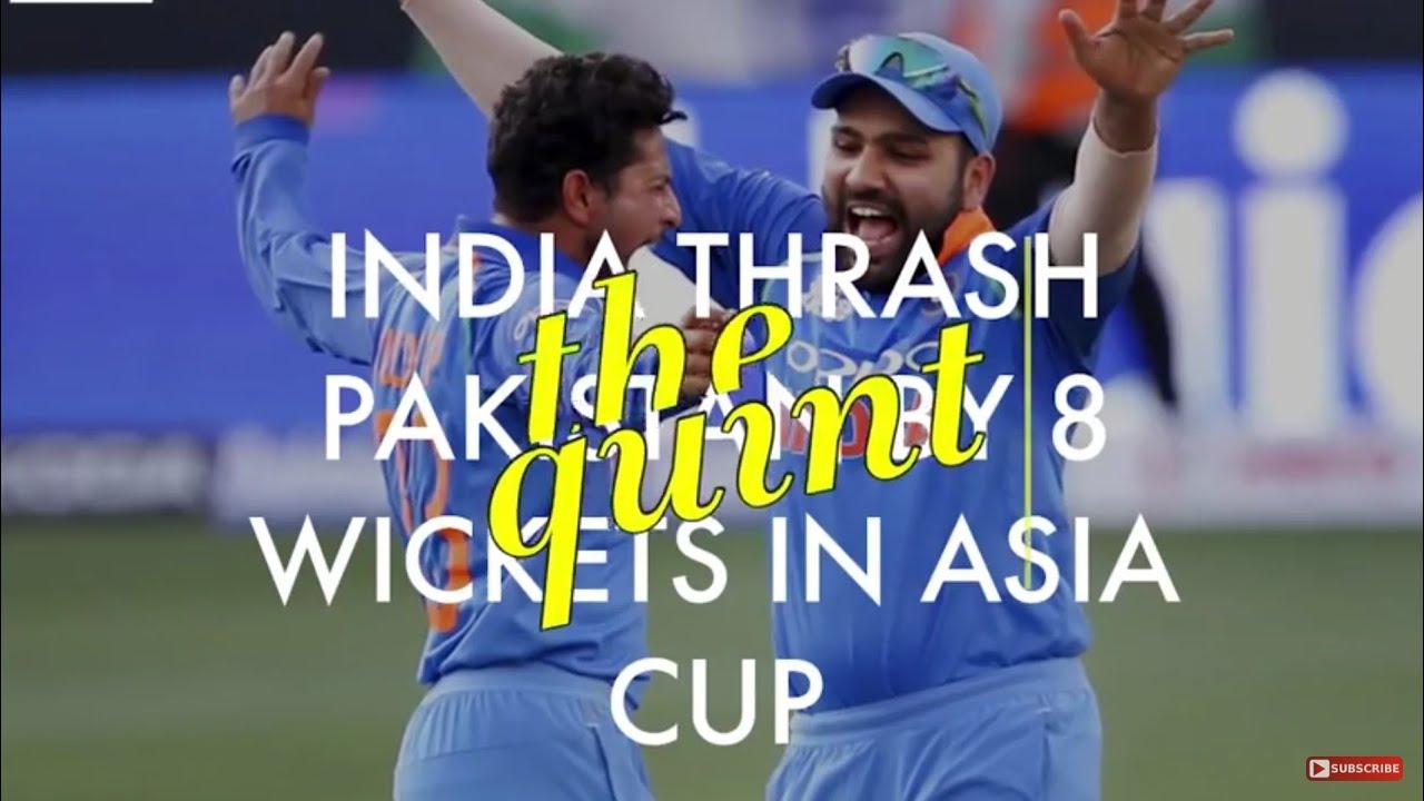 india  vs pakistan highlights
