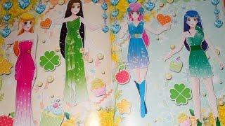 Đồ chơi cho bé gái - Dán hình trang điểm váy đầm cho công chúa - Quyển 2 - Tập 1